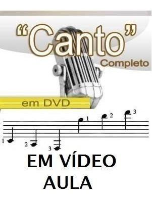 Aulas De Canto Curso Em 2 Dvds B1m