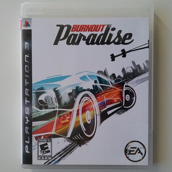 Burnout Paradise Ps3 Mídia Física Original Usado
