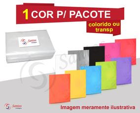 Saco Plástico Forte 50x70 18m C/200 Tratado P/ Serigrafia