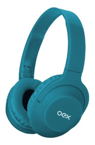 Oex Headset Flow Azul Bluetooth