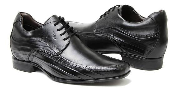 Sapato Em Couro Rafarillo Alth Aumenta Altura 3206