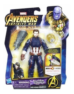 Avengers Infinity War Capitán America