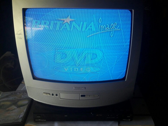 Tv 14 Polegadas + Dvd Britânia