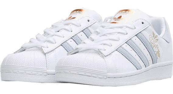 Tenis adidas Superstar W Originals Cg5939 Periwinkle.