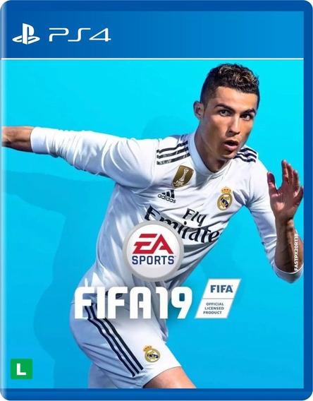 Jogo Fifa 19 Ea Sports Para Playstation 4 Ps4 Português