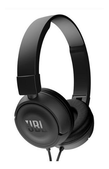 Fone De Ouvido Jbl T450 Black Over Ear Estéreo C/ Microfone