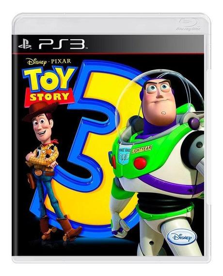 Toy Story 3 Ps3 Mídia Física Pronta Entrega