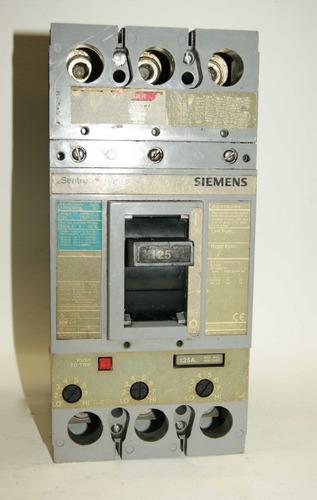 Totalizador  125a Fxd63b125 Siemens   Cod. 01003