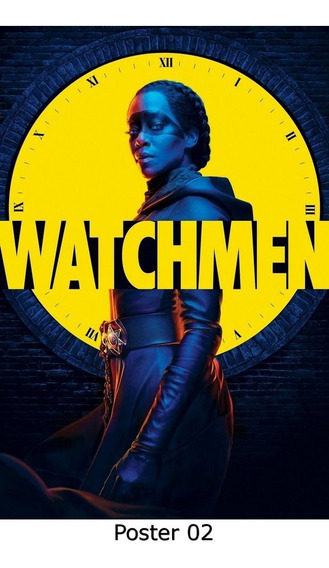 Poster Cartaz Séries Watchmen S01 20x30, 02)