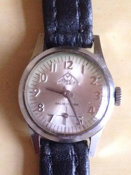 Relógio De Pulso Mondaine Ancre 17 Rubis