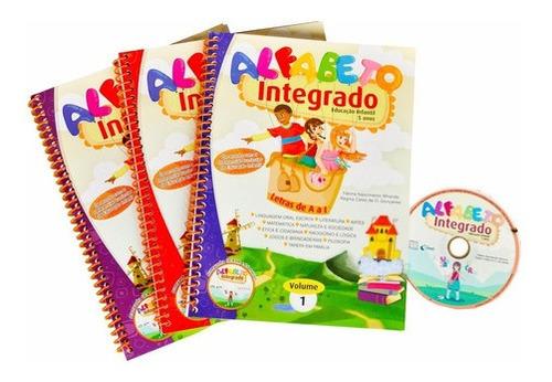 Imagem 1 de 6 de Coleção Alfabeto Integrado Educação Infantil + Brinde
