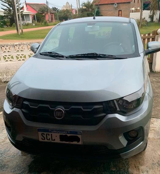 Fiat Mobi Easy 1.0 Año 2018 Gris Scandium