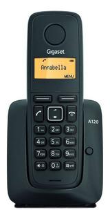 Teléfono inalámbrico Gigaset A120 DUO negro
