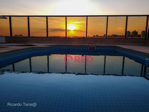Imagem 1 de 30 de Cobertura, 785 M² - Venda Por R$ 4.000.000,00 Ou Aluguel Por R$ 16.800,00/mês - Vila Trujillo - Sorocaba/sp - Co0006