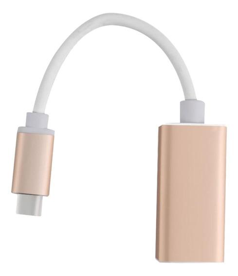 Adaptador De Áudio Conector De Cabo Display Port Dp Av Conve