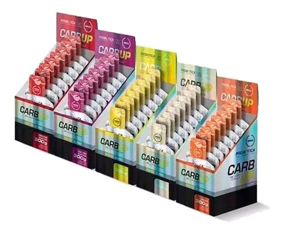 5 Caixas Carb Up Gel 10 Sachês 30g (energético) - Probiótica