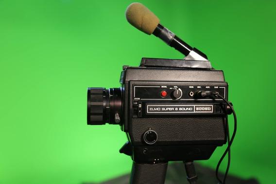 Filmadora Elmo Super 8 Sound Kodak
