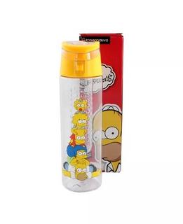 Garrafa 700ml Com Infusor Simpsons