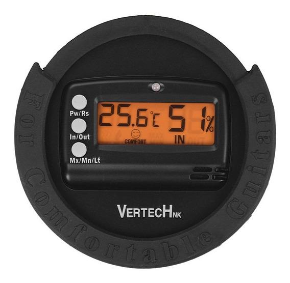 Vertechnk Sky-80 Guitar Sound Hole Digital Higrômetro &