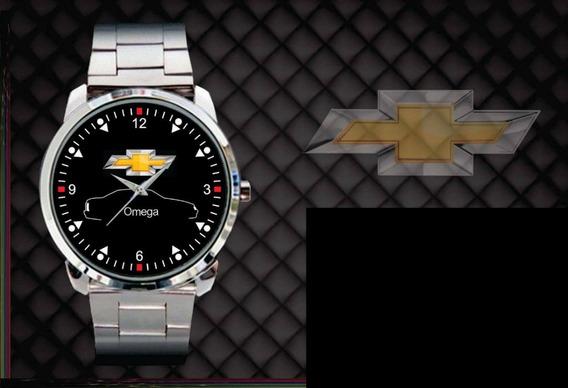 Relógio De Pulso Personalizado Logo Chevrolet Omega Gls Cd