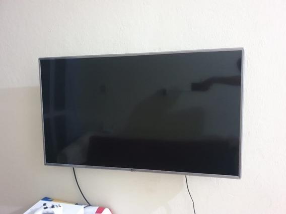 Smart Tv Lg 50 Pol Com Tela Sem Pegar E Saídas Queimadas