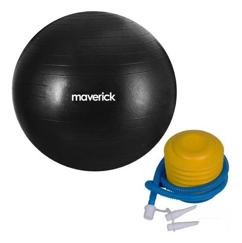 Imagen 1 de 7 de Pelota Yoga Maverick 75cm Esferodinamia Gym Pilates Inflador