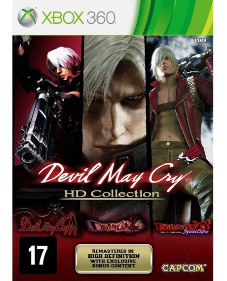 Devil May Cry Hd Collection Xbox 360 Original Seminovo
