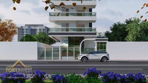 Imagem 1 de 9 de Apartamento Com 1 Dormitório À Venda, 40 M² - Vila Guilhermina - Praia Grande/sp - Ap2479
