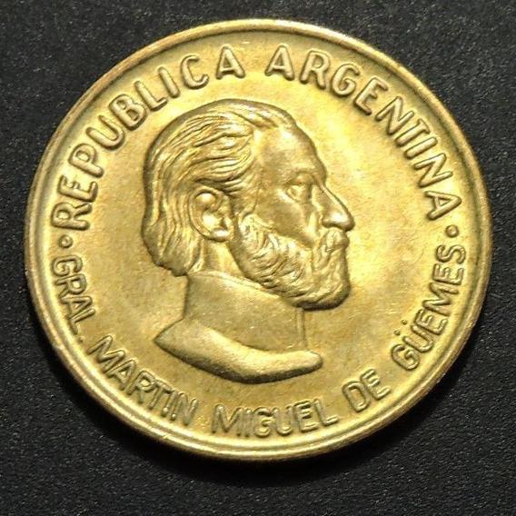 50 Centavos Martin Miguel De Güemes