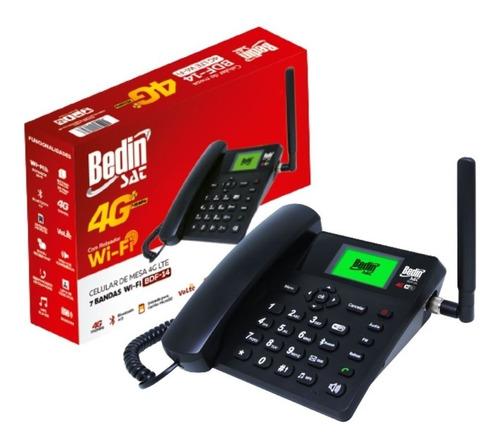 Celular De Mesa 4g Lte 7 Bandas Wifi Bdf-14 Lançamento Bedin