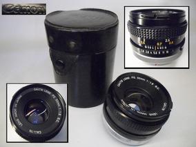 Canon* Lente Canon Fd 50mm 1:1.8 Analógica * Cx14