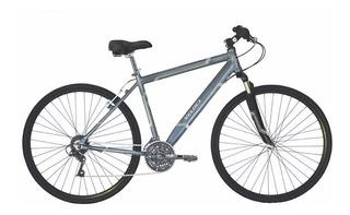 Bicicleta Urbana Veloci Gris Oxford Aluminio Rodada R700c