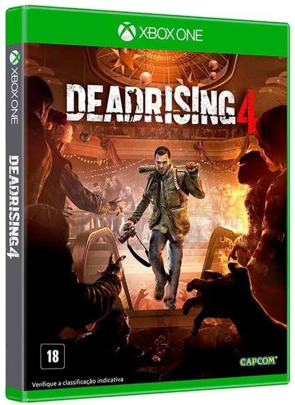 Dead Rising 4 - Xbox One Midia Fisica Dvd