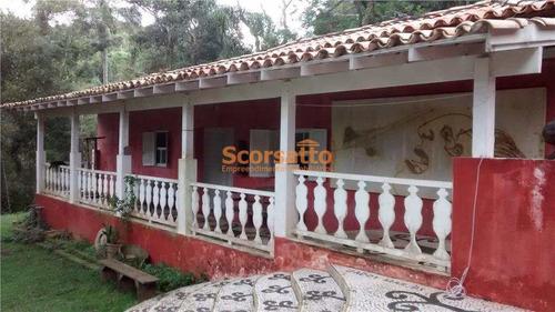 Chácara Com 2 Dorms, Engenho, Itapecerica Da Serra, Cod: 1466 - V1466