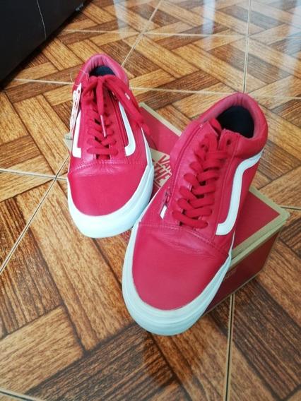 Tenis Vans Old Skcool Rojos