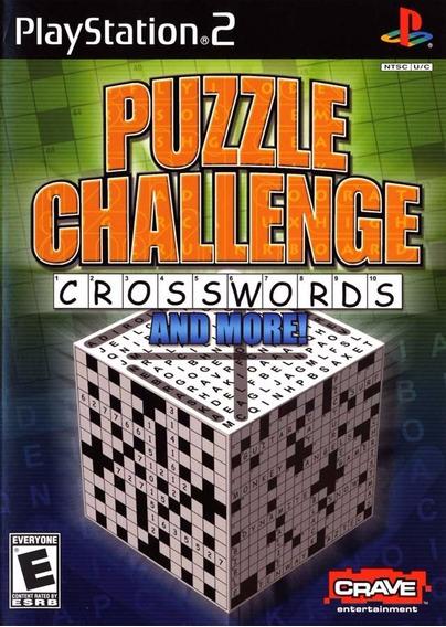 Jogo Ps2 Puzzle Challenge Crosswords And More Original