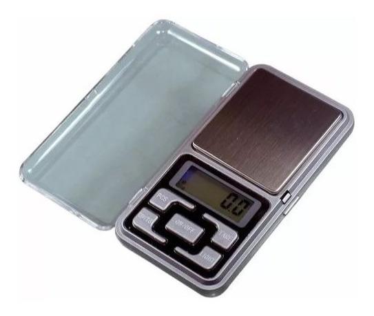 Mini Balança Digital De Bolso Alta Precisão De 0,1g A 500g