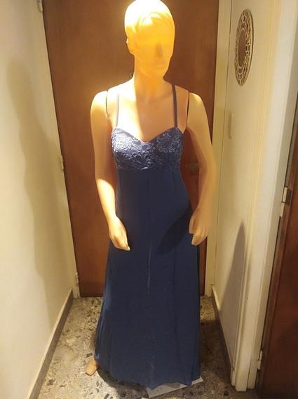 Vestido De Fiesta Largo Super Delicado!!! Solo Un Uso.