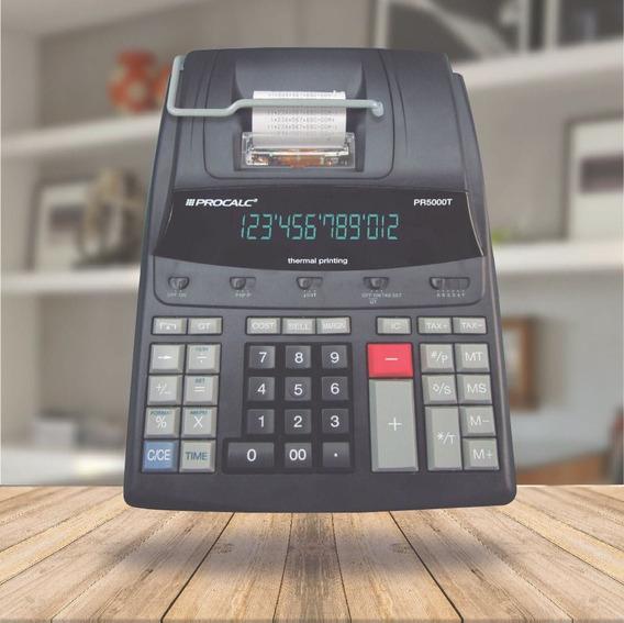 Calculadora De Mesa Procalc Pr5000t 12 Digitos