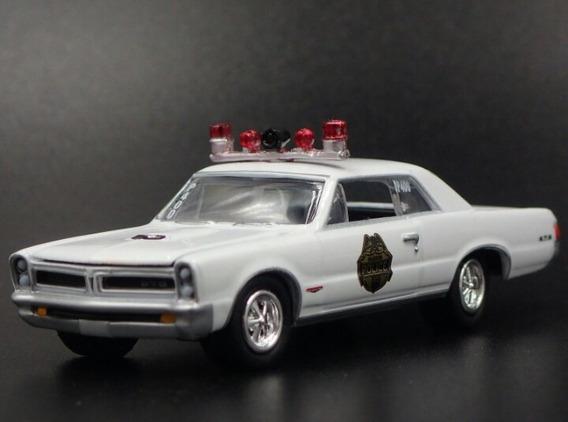 1965 Pontiac Gto Waskom Police Johnny Lightning Suelto Sa17