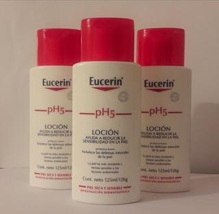 3 Cremas Eucerin Ph5 De 125ml