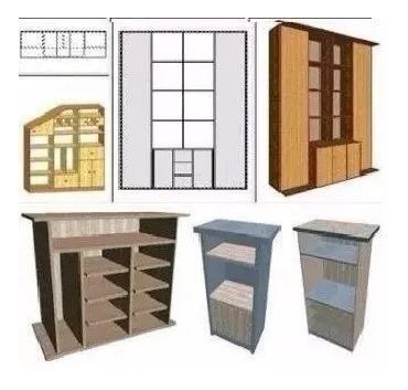 Crear Cocina Closet Diseñar Muebles 3d Programa Mobiliarios