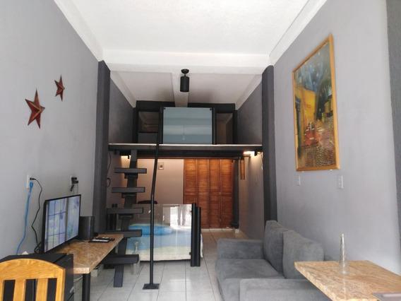 Loft Cerca De Santa Fé Para Renta Mensual O Anual