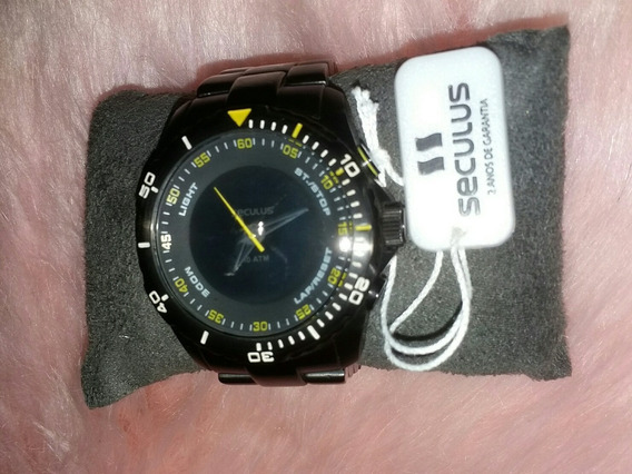 Relógio Masculino Seculus Promoção Original Barato