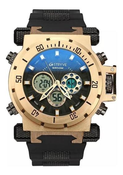 Relógios Stryve Gold Black