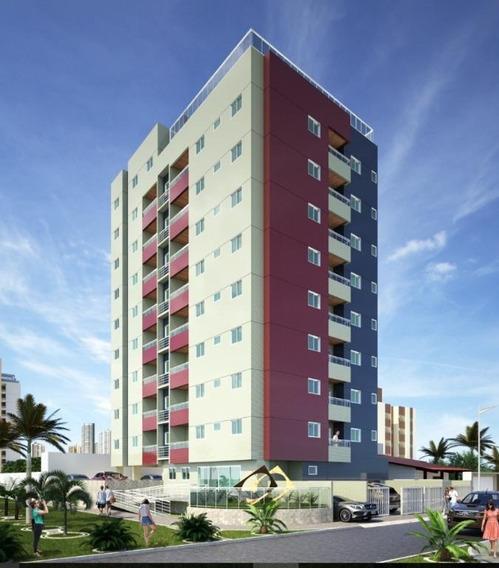 Apartamento Em Intermares, Cabedelo/pb De 58m² 2 Quartos À Venda Por R$ 257.256,00 - Ap211215