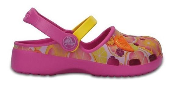 Zapato Crocs Niña Karin Novelty Clog K Rosa