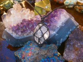Colar Com Quartzo Cristal [natural Artesanatos]