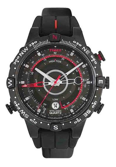 Relógio Timex Masculino Tide Iq T2n720wkl