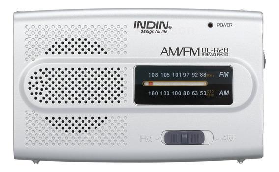 Indin Bc-r28 Am Rádio Fm Portátil De Bolso Rádio Digital